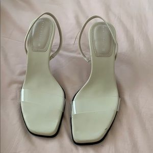Zara Heeled Leather Sandals